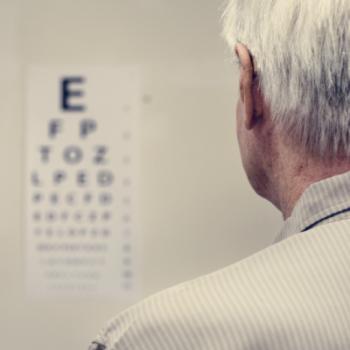 teste de visão subnormal