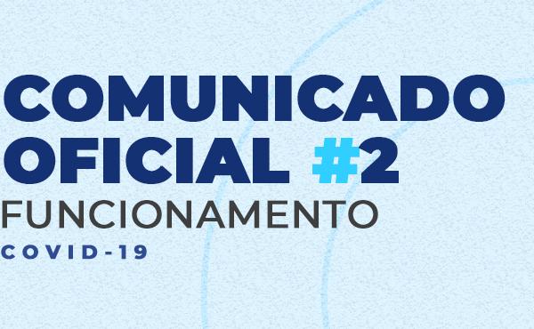Comunicado Oficial #2