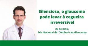 Silencioso, o glaucoma pode levar à cegueira irreversível
