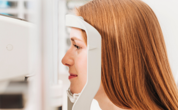 consulta com oftalmologista