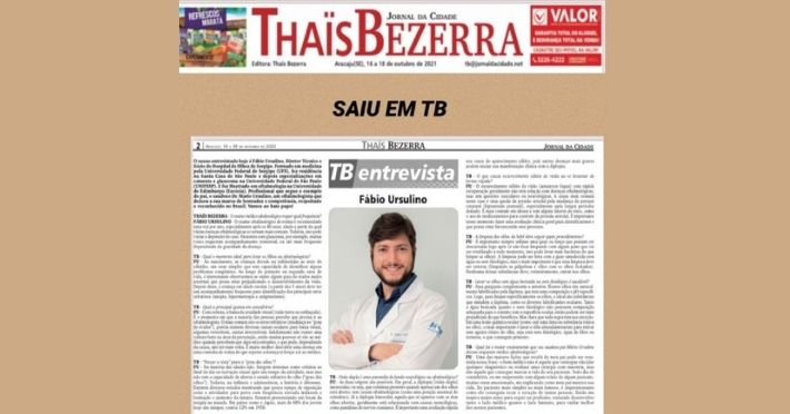 Entrevista com Dr. Fábio Ursulino